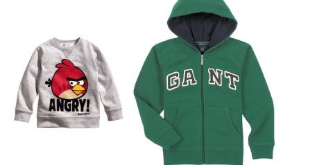 Sudadera de H&M y GANT (El Corte Inglés)