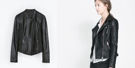 Bikker de Zara disponible por 129 euros y la opción de la derecha más económica por 59.95 euros