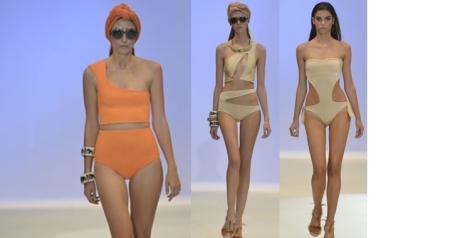 Encantada con el diseño de los bañadores de Juana Martín. De corte vintage, o trikinis muy favorecedores para la mujer