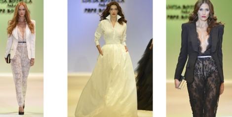Lucía Botella para Pepe Botella apuesta por el blanco y negro con prendas elegantes