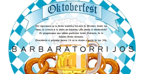 El Oktoberfest de Bárbara Torrijos