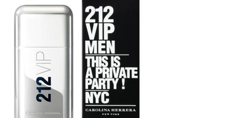 212 VIP Carolina Herrera para hombre