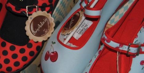 Lunares y cerezas de Chocolaticas