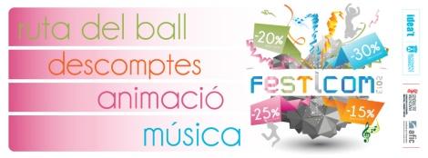 Imagen oficial de la actividad comercial Festicom Torrent