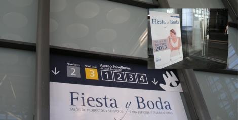 Entrada a la feria Fiesta y Boda 2013
