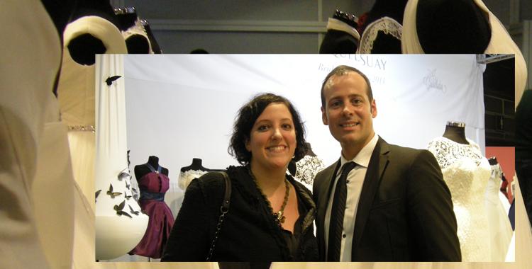 Y durante la visita a la feria tuve el placer de saludar al diseñador valenciano Miquel Suay