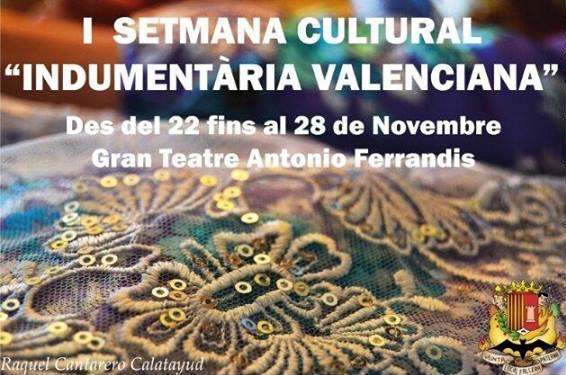 I jornadas de indumentaria valenciana