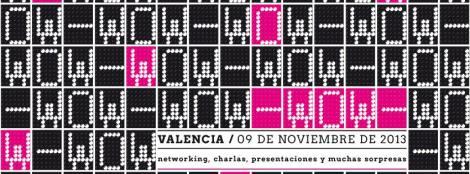 Imagen promocional del primer congreso de bloggers de moda en Valencia
