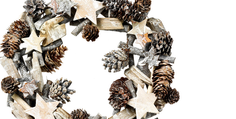 Corona decorativa para puertas de El Corte Inglés