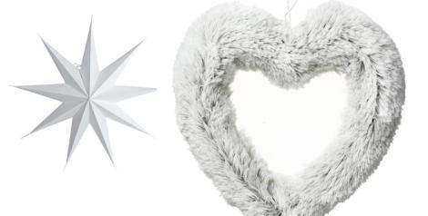 Estrella de Kenay Home y  Corona corazón de El Corte Inglés
