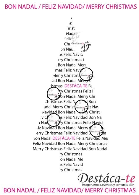 Destáca-te os felicita las fiestas y os desea Feliz Navidad y Próspero Año Nuevo 2014