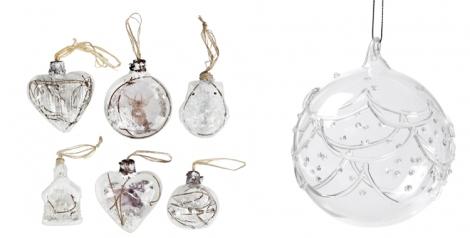 Bolas de la colección Forest y Cristal de Casa decoración