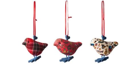 Pájaros de Ikea tipo patchwork