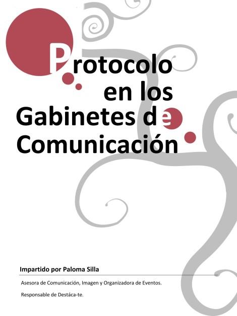 Curso de protocolo de la APPV impartido por Paloma Silla