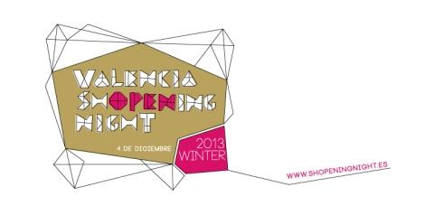 Imagen oficial de la Valencia Shopening Night de 2013