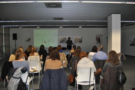 Vista de la sala durante el curso de organización de eventos