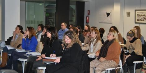Alumnos del curso de Organización de Eventos impartido en Torrent