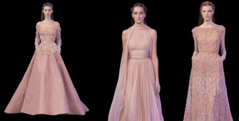 Tonos maquillaje para los vestidos más vaporosos y espectaculares de Elie Saab