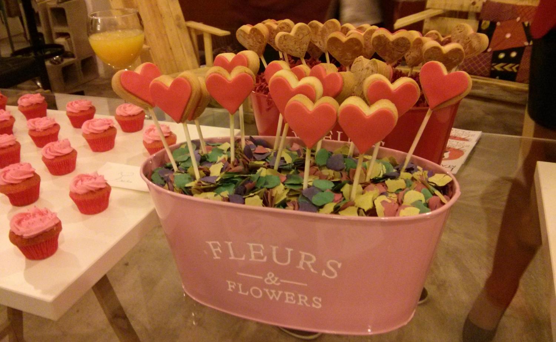 Galletas con corazón de Miss Cake