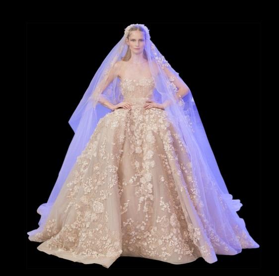 La novia de Elie Saab