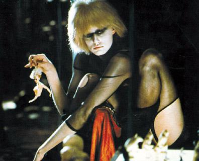 Imagen postmodernista de la replicante de Blade Runner