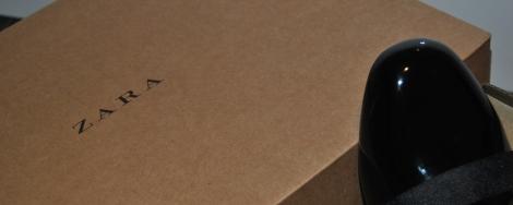 Zara compra on-line de calzado