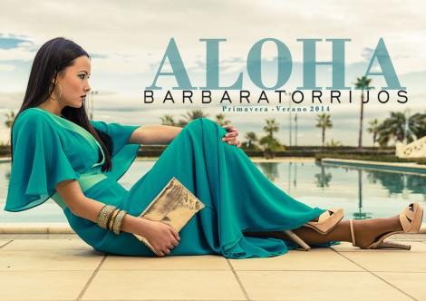 Imagen oficial de la colección Aloha de Bárbara Torrijos