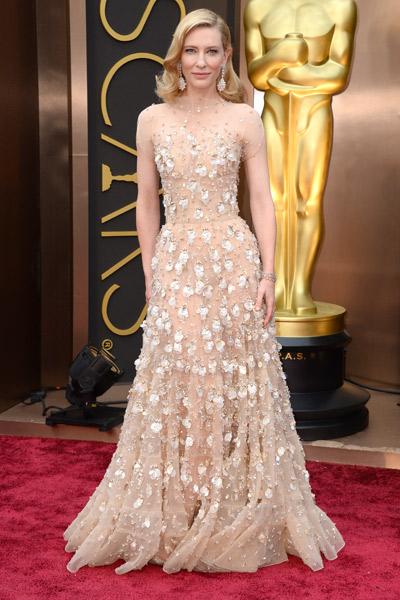 Cate Blanchett deslumbró con este Armani Prive