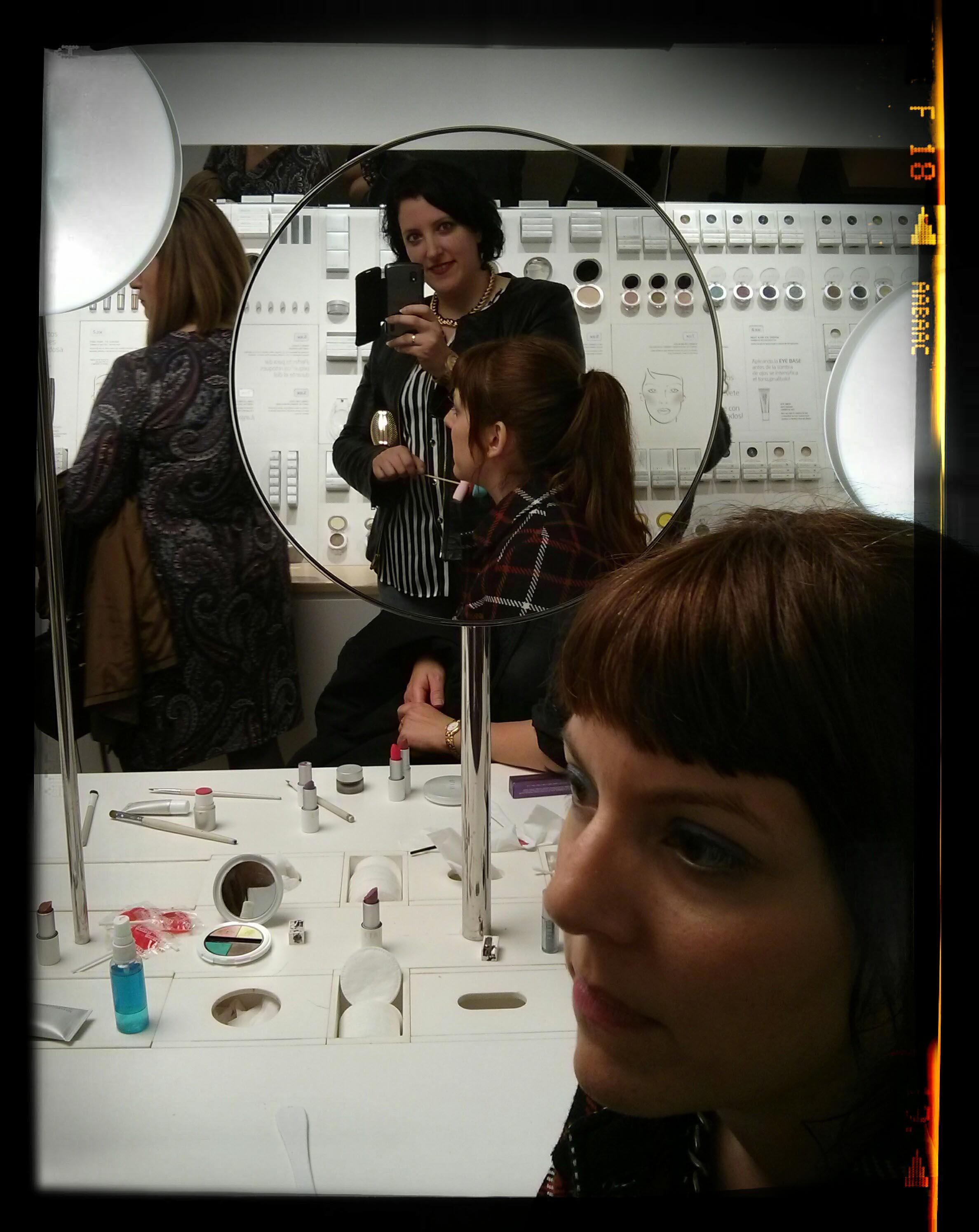 cosmetica y maquillaje en la fiesta Etnia Cosmetics Paloma Silla Destaca-te 2014 primavera verano