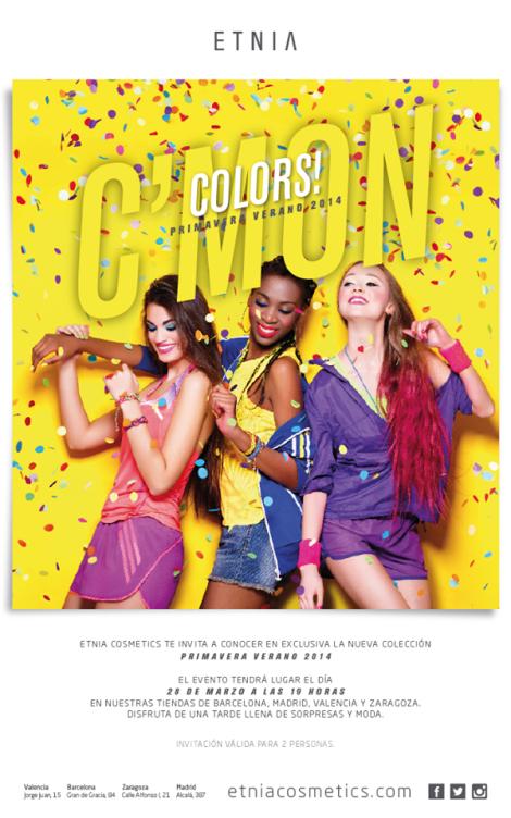 Presentación de la colección de productos para Primavera Verano 2014