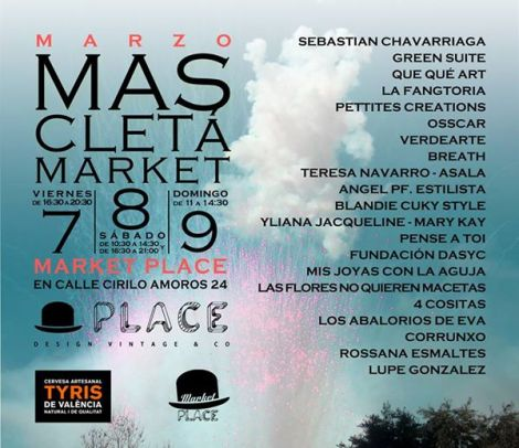 Los participantes en Mascletà Market en Place Valencia