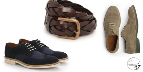 Los zapatos de serraje tipo sport y los cinturones trenzados y en colores vivos contribuirán a conseguir ese aspecto más juvenil