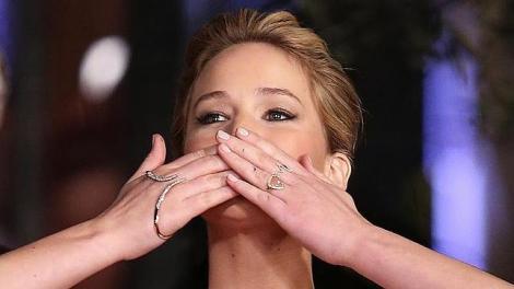 Jennifer Lawrence con handlet de  Ana K. Imagen de abc.es
