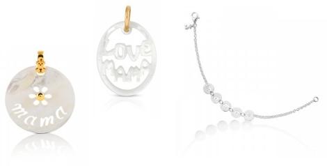 Modelos de medallas y pulseras de Tous para el día de la madre