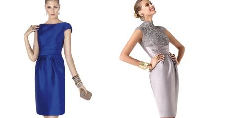 Modelos Aby y Rabiola de ceremonia para Pronovias, colección 2014- 2015