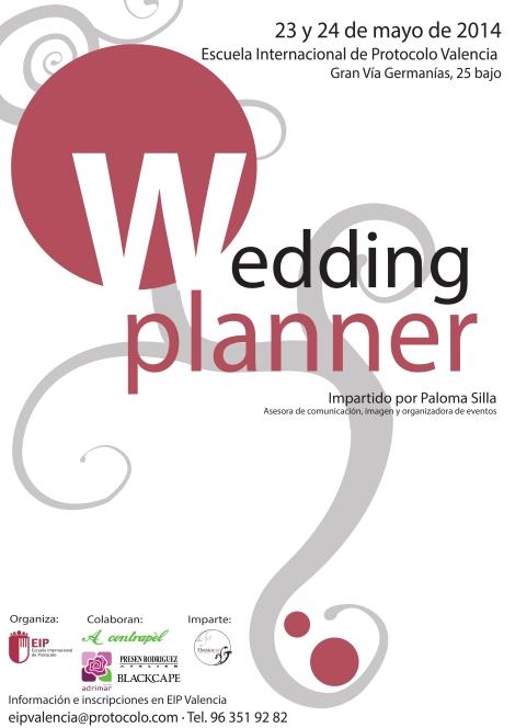 Curso de Wedding Planner impartido por Paloma Silla en la Escuela Internacional de Protocolo
