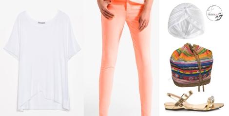 Un outfit cómodo y sencillo para vestir el verano