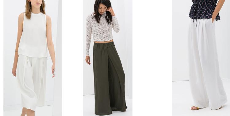 ddc898441 Modelos de pantalón de pata de elefante de Zara