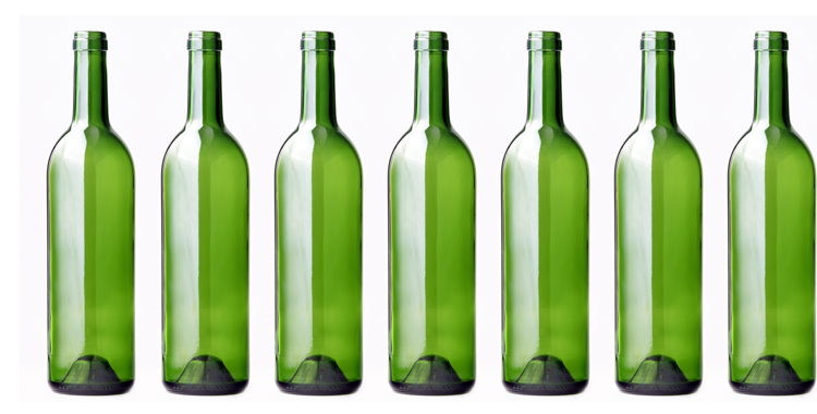 Botellas de vidrio usado decoraci n boda wedding planner for Botellas de cristal ikea