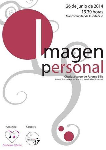 Cartel de la charla para corazones abiertos sobre imagen personal