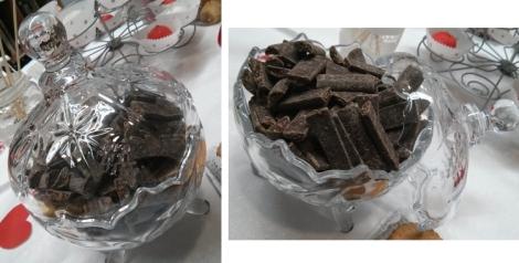 El chocolate no puede faltar en las mesas dulces por ser uno de los favoritos de los invitados