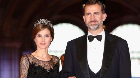 Los futuros Reyes de España D. Felipe y Dña. Letizia. Imagen de www.teinteresa.es