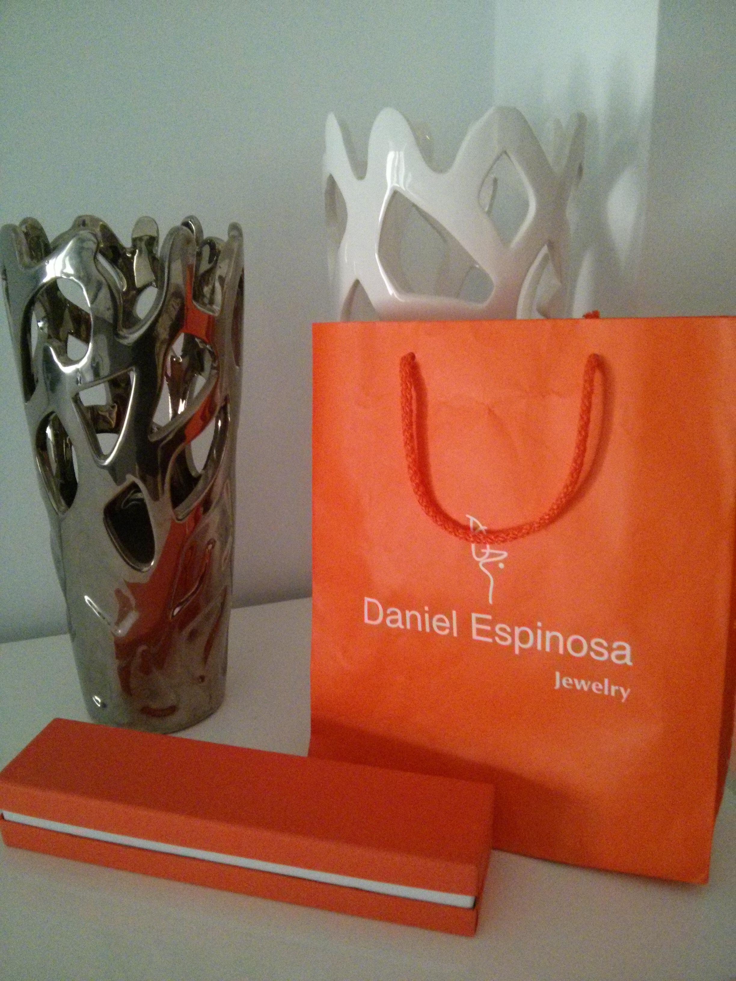 Detalle del packging de Daniel Espinosa