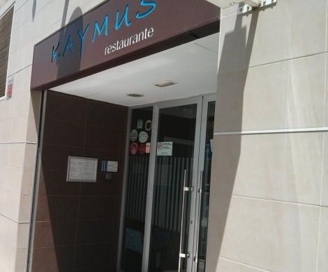 Fachada del restaurante de comida de autor abierto en Valencia desde 1979
