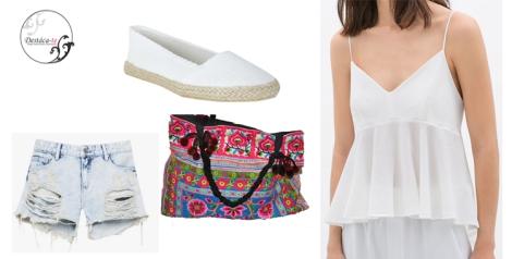 Outfit propuesta de Destáca-te para julio