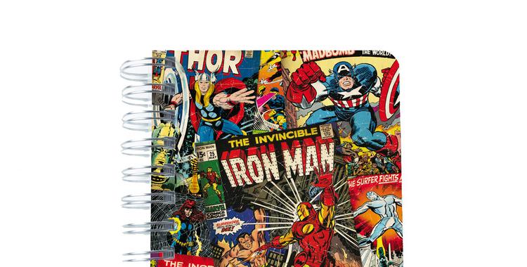 Agenda Marvel de venta en El Corte Inglés. Haz que sus clases sean más ligeras con sus super héroes favoritos