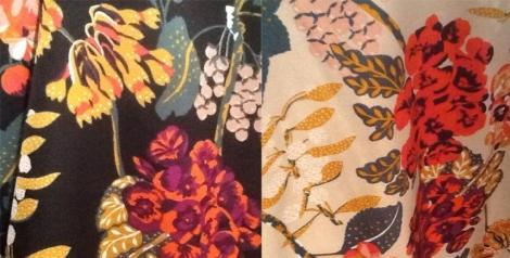 Detalle de dos de los kimonos de H&M que tengo