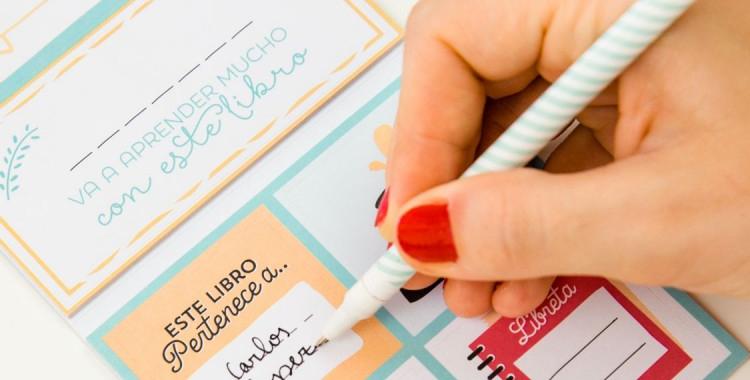 etiquetas molonas para marcar tus libros de mr wonderful vuelta al cole moda sugerencias destacate destcate