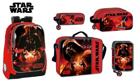Colección de Star wars de SAFTA. Ideal para los niños y para los padres seguidores de la saga. Imagen y montaje de SAFTA
