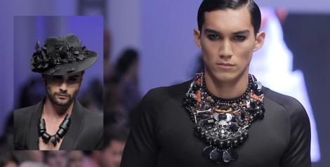 Además del mimo en sus prendas, el diseñador valenciano apuesta por los complementos para hombre